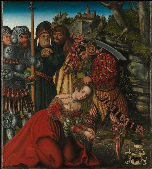 现实中,长发公主原型是3世纪的一位圣徒,她被自己父亲斩首