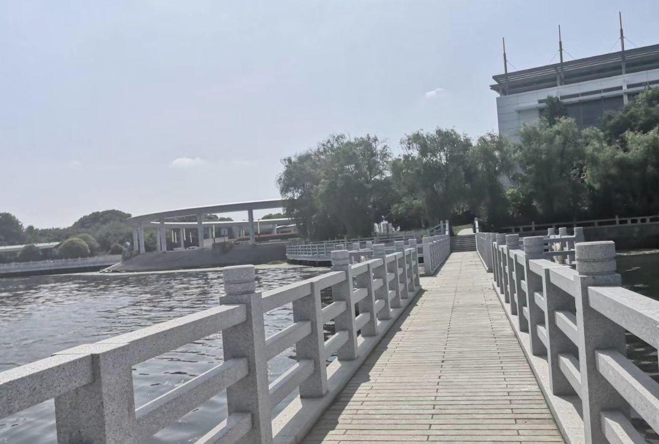 苏州粽子博物馆与阳澄西湖夏季风景