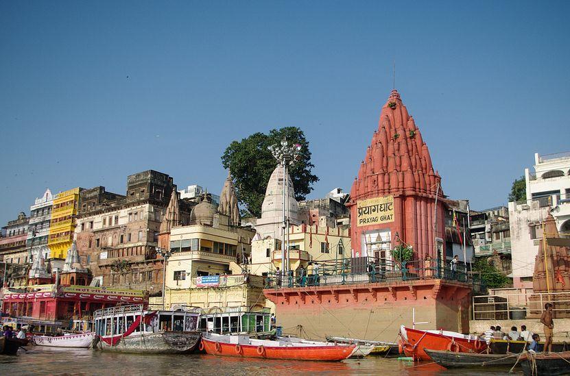 瓦拉纳西——又称贝拿勒斯,印度教圣地、著名历史古城