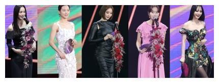 第34届金唱片颁奖典礼上,韩国顶级女演员们照亮整个天空