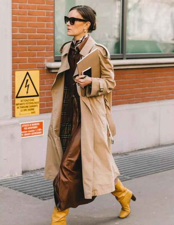 """大衣里面穿什么好看?女人到了中年,选这3种""""内搭"""",时髦减龄"""