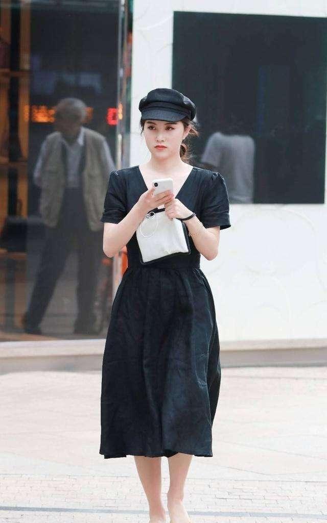 流行的报童帽你get了吗?戴上减龄又时髦,显脸小还能增加造型感