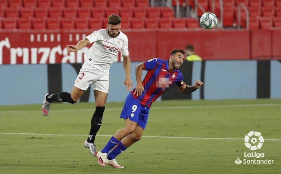 奥坎波斯破门,塞维利亚1比0小胜埃瓦尔,西甲2连胜稳居第四