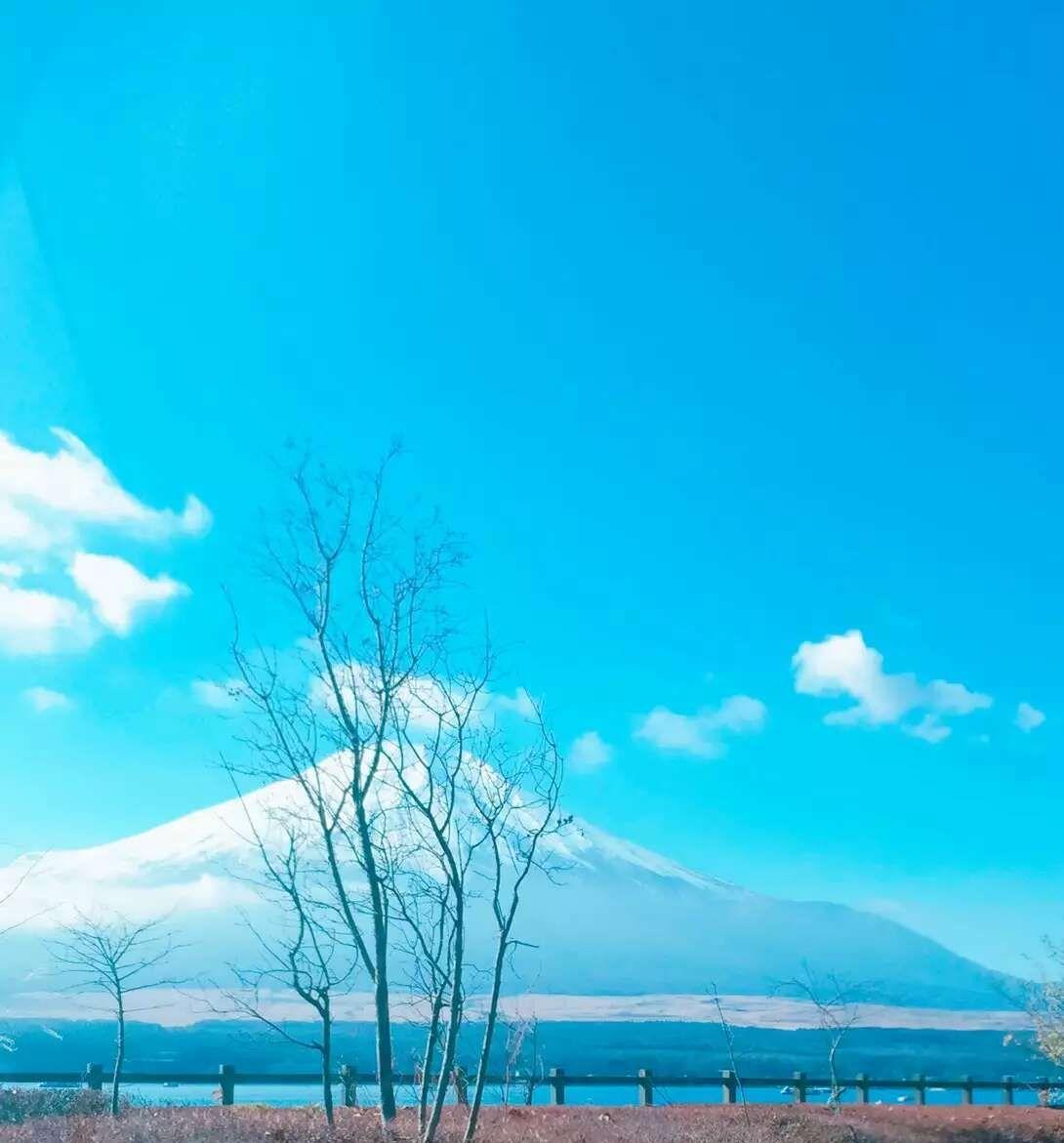 圣诞节里的富士山究竟有多美?