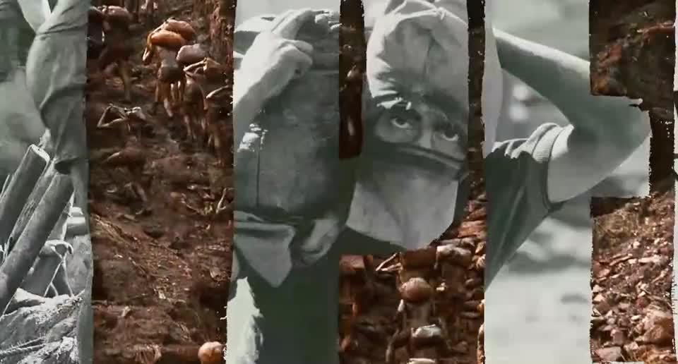 巴西发现一座天然金矿,产量极大,大量淘金工人前往金矿