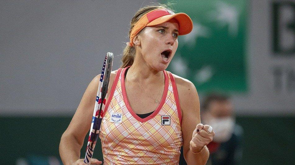4号种子肯宁2-1逆转博格丹,晋级2020年法国网球公开赛女单32强
