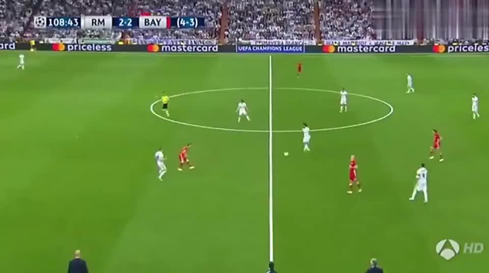 马塞洛欧冠无私助攻C罗破门 皇马总比分5比3拜仁晋级决赛