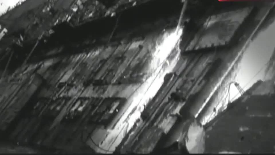 二战影像美国为了防止海军船舰被毁选择和黑手党妥协