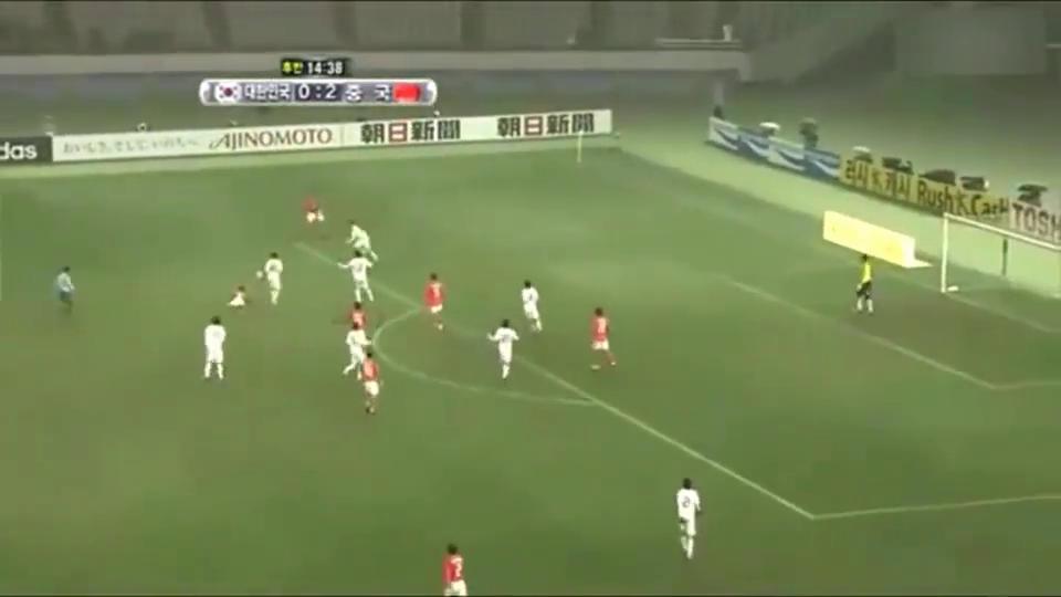 7年前东亚杯国足3-0大胜韩国,第三球打出皇马式反击