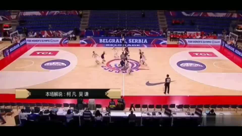 奥预赛,女篮对阵法国队,气质这方面拿捏的牢牢的。
