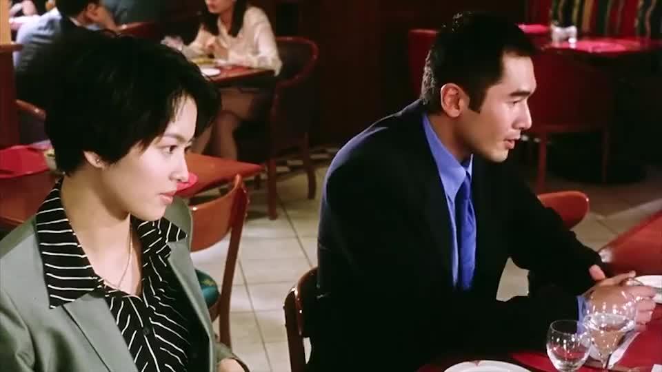方中信:很高兴认识你,刘德华:对不起,我不高兴啊