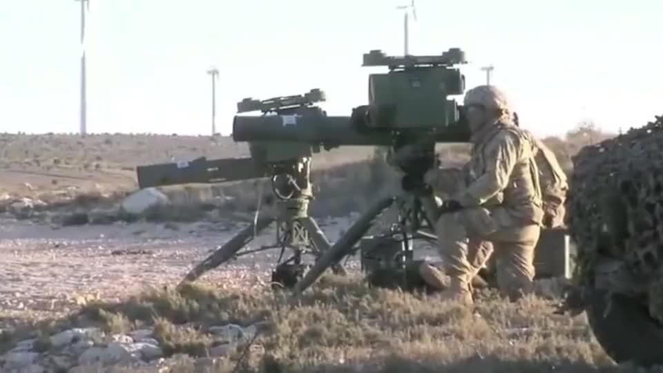 强大的反坦克武器!FGM-148标枪的威力,见识见识