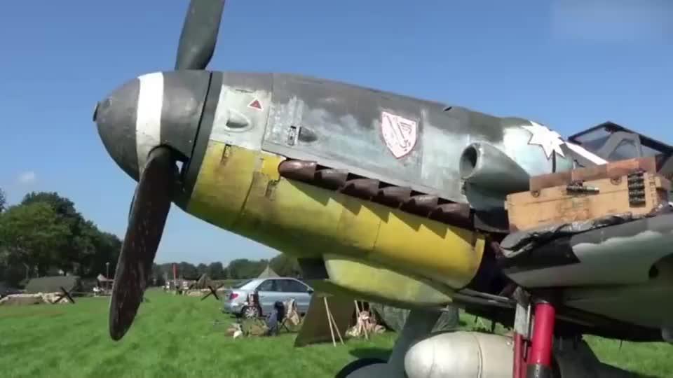 二战名机!梅塞施密特Bf-109G,到现在还保存完好!