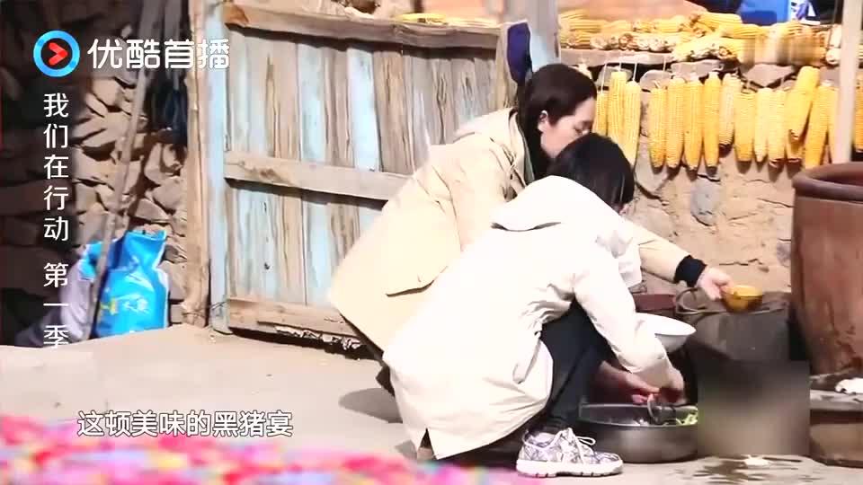 王宝强做饭,陈蓉问他要不要蒜苗,结果他的回答让陈蓉无奈了!