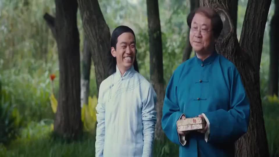 道士下山:何安下问范伟他该怎么活,范伟说没人能告诉他
