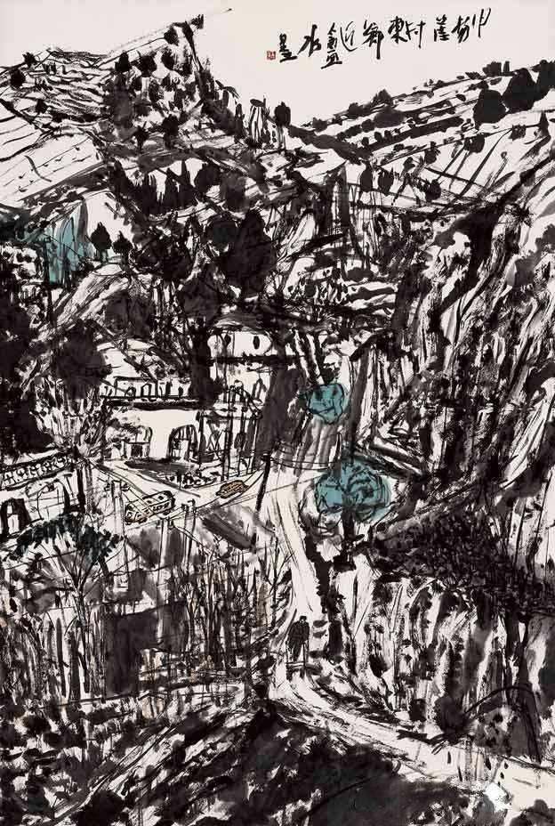 当代著名画家中国美术家协会理事刘进安,精品国画作品集欣赏!