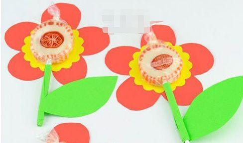 六一儿童节小礼物DIY手工卡纸棒棒糖制作