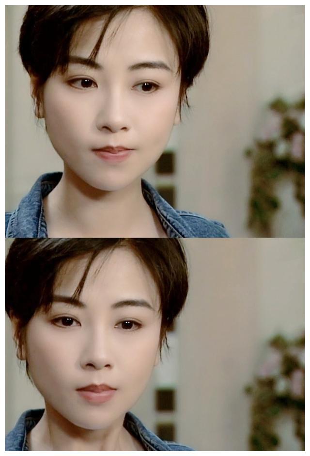 """香港女星""""袁洁莹""""年轻时真美,古装漂亮,短发干练,又帅又美!"""