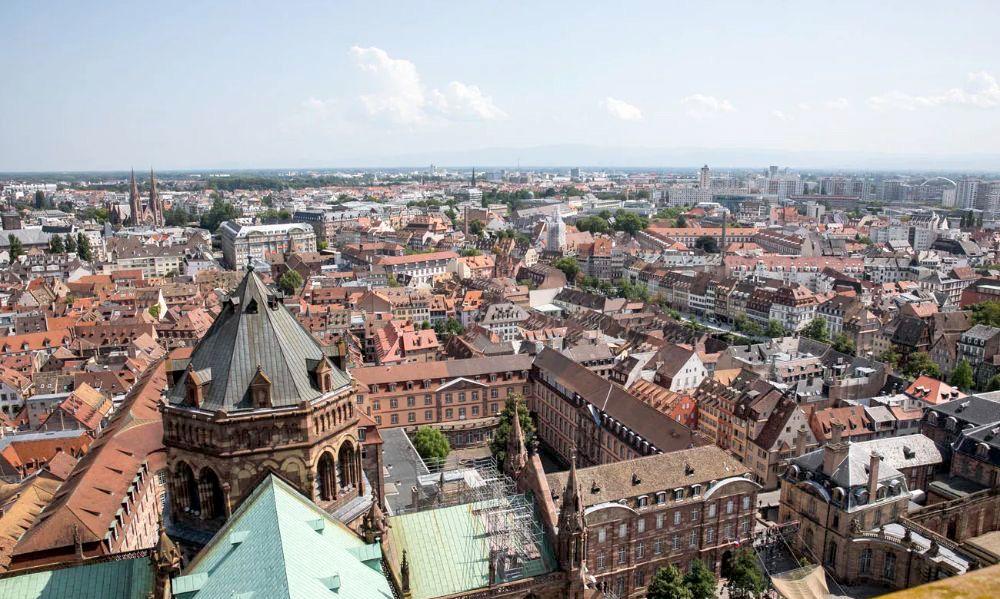 光景美图分享70:斯特拉斯堡(法国)莱茵河畔的浪漫小城