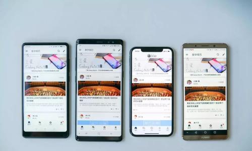 国外推出七边形手机众筹,配置顶级屏幕怪异