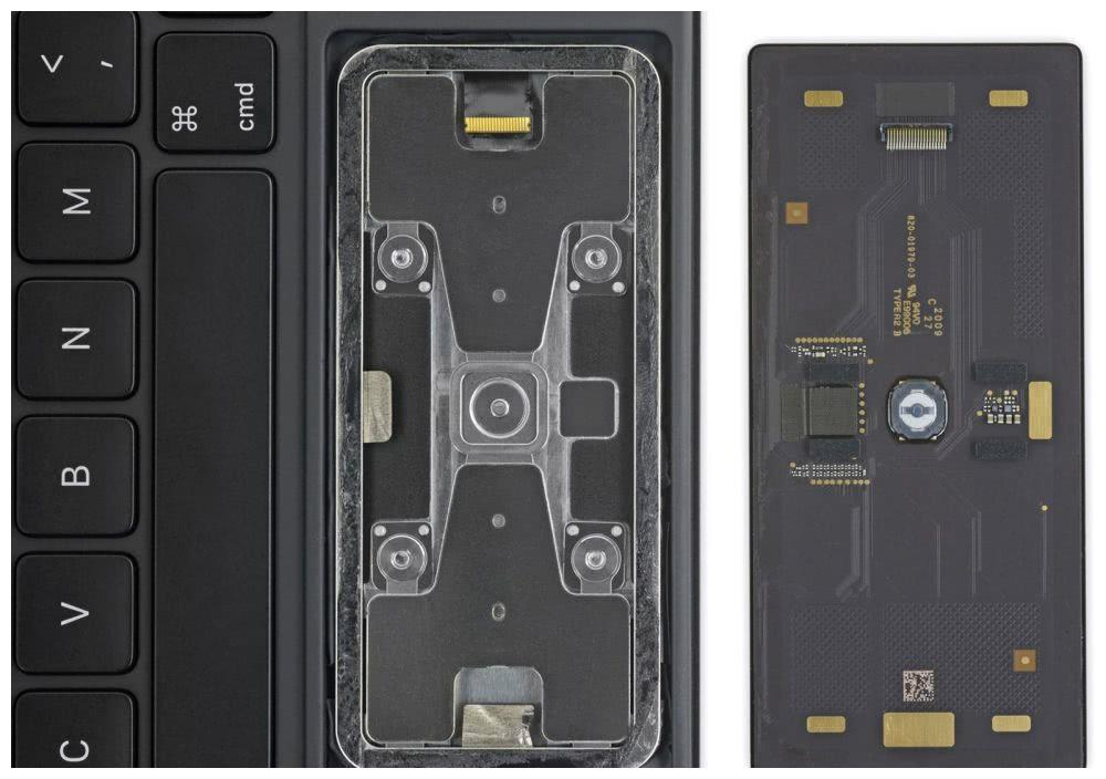 iFixit拆解妙控键盘触控板:唯一可拆且不坏的部分