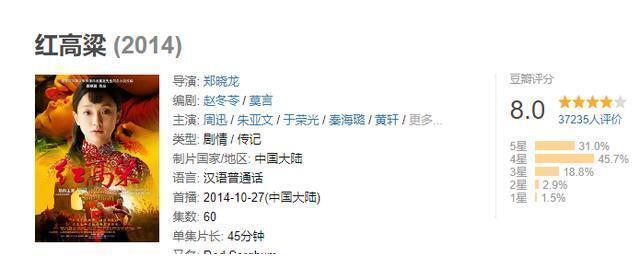 《红高粱》同款班底,吴刚、惠英红加盟,赵丽颖这部新剧太牛了