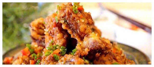椒盐排骨自己做,省钱又好吃,饭店的做法家中做,美味又安全