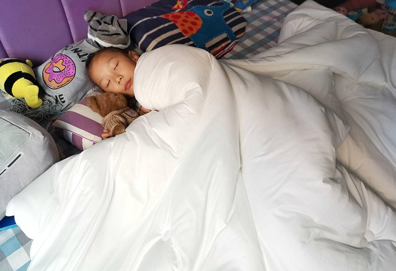 柔软舒适,宝妈最爱的绘睡玉米纤维被体验
