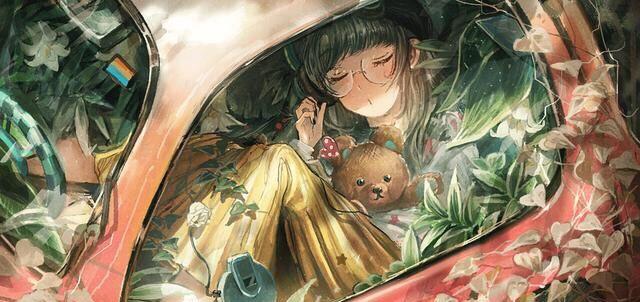 艺术家系列NO.571-Miko 日本插画师 大爱这样的复古画风的插画