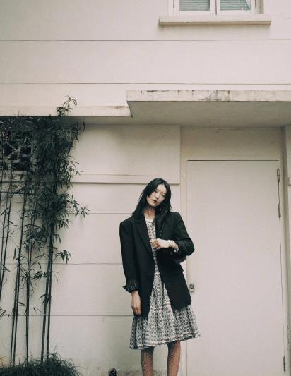 """看腻了刘雯穿正装,那就看看她的日常私服,超""""接地气""""爱了"""