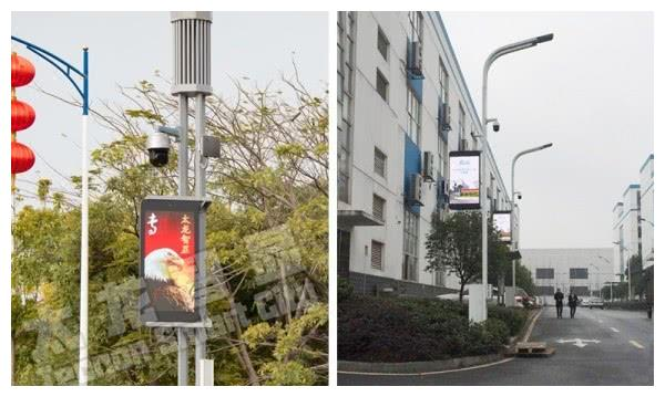 LED灯杆屏更大程度地满足了路灯场景应用需求