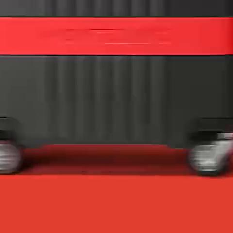 全新万宝龙MY4810登机旅行箱倍耐力联名红黑款