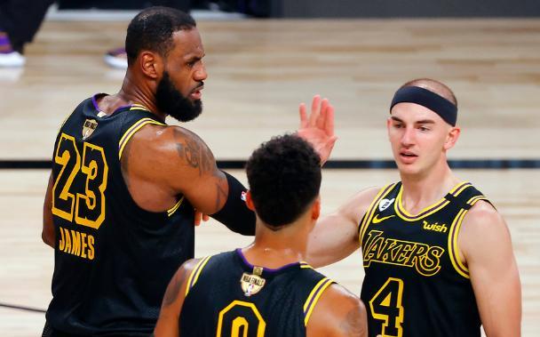 NBA总决赛G2,湖人124-114大胜热火
