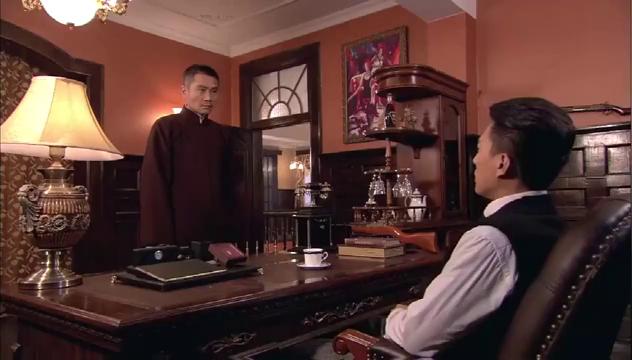 荣石想给竹木吃定心丸,安排手下杀了两个日本兵,还故意留下纸条