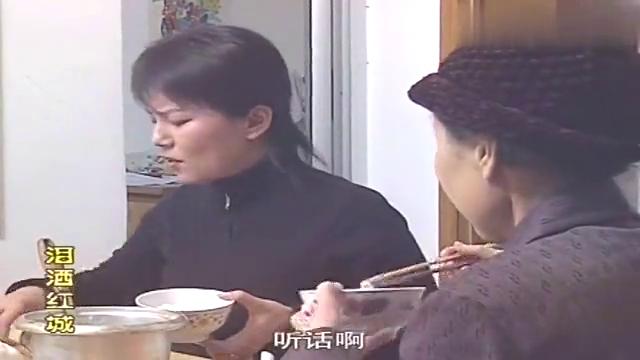 父亲和情人偷情私奔,女儿早熟叛逆,竟和妈妈顶撞不吃饭