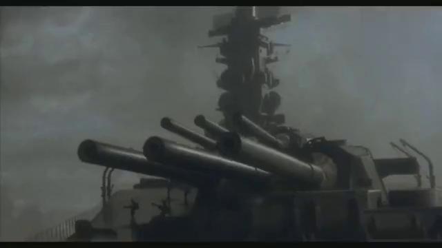 这才是残暴海战片,巨型战舰被群机围殴,终寡不敌众,葬身海底
