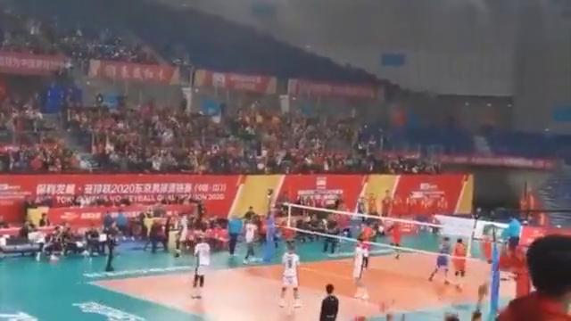 3比1击败卡塔尔队,中国男排昂首挺进决赛