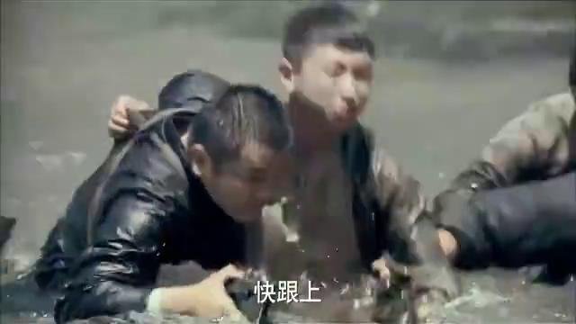 战火青春:游击队被鬼子伏击死伤惨重,戴金花战神救场,赶紧撤