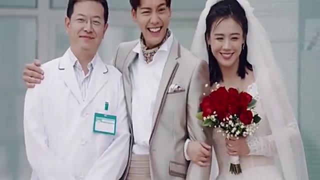 陈伟霆和美女拍婚纱照,还要找一群医生,美女生气了