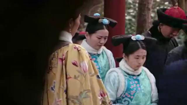 如懿传:蕊姬轻狂骄纵,欲不对皇后行礼就离开