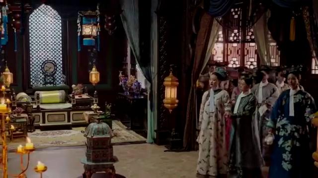 如懿传:皇上如此厚待寒香见,众妃嫔看起来很不满!