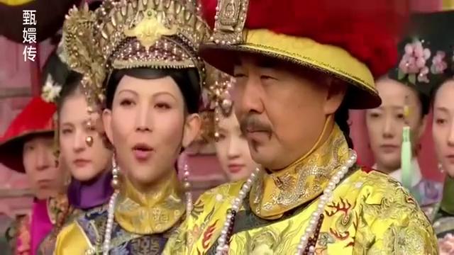 甄嬛传:皇帝亲自迎甄嬛回宫,其他嫔妃看着只能干瞪眼