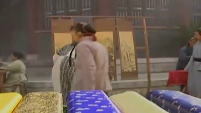 武当:刘伯温街头卖东西,却被恶霸欺负,张三丰为他抱不平