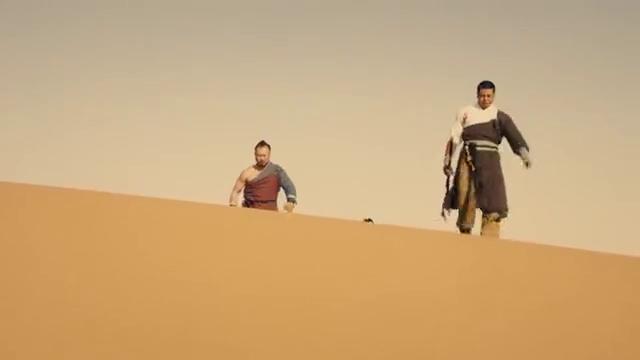 降魔武僧:众人刚到沙漠,又遇见影族人,下一秒圣童被抢走