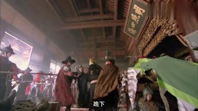 水浒传:阮小七天生爱闹,穿上方腊黄袍,和兄弟等人玩笑