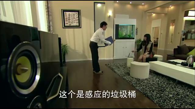 赵大咪正高兴租到高科技房子,不料总裁走出来时,蒙了