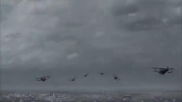 远去的飞鹰:十辆战机呼啸而过,小鬼子指挥部被活埋,太解气了