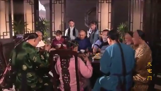 大宅门:白景琦不好好吃饭,白文氏一看叹口气,张嘴让白景琦跪下