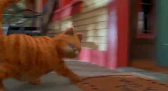加菲猫:欧弟啥楞傻愣的,加菲很生气
