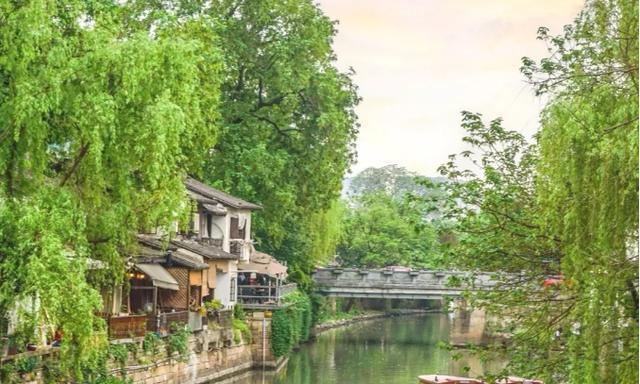 2020年中国杭州春游:中国茶叶博物馆,龙井草堂,小河直街
